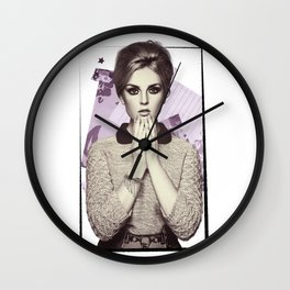 Perrie Edwards Wall Clock