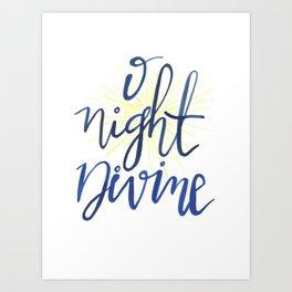 O Night Divine Art Print
