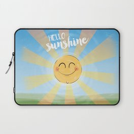 Hello Sunshine Laptop Sleeve