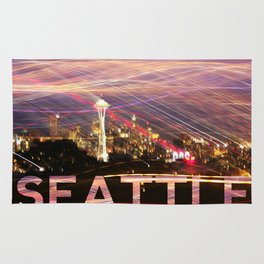 Seattle long exposure  Rug
