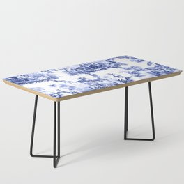 Blue Chinoiserie Toile Coffee Table