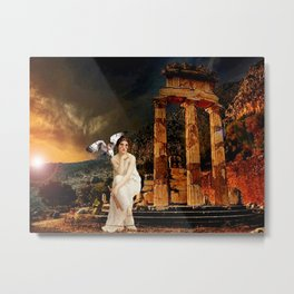 Ruin - Pallas Athena Metal Print