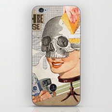 Artificial smiles iPhone & iPod Skin