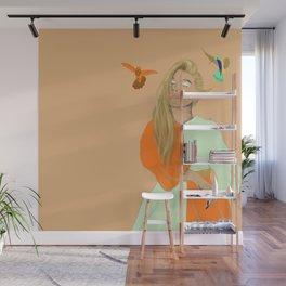 The Humming Wall Mural
