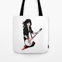 Joan Jett, The Queen of Rock Tote Bag