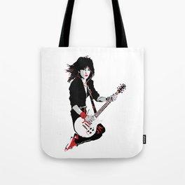 Joan Jett, The Queen of Rock Tote Bag