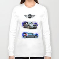 decal Long Sleeve T-shirts featuring Cars: Mini Cooper S by Urbex :: Siam