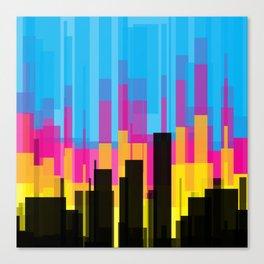 Skyline 10 Canvas Print