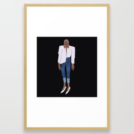 Jeans and Shirt Framed Art Print
