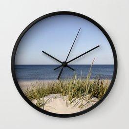 Bornholm Island Sea View Wall Clock