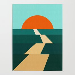 Abstract landscape XIII Poster