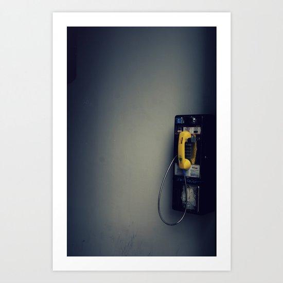 Pay Phone VII Art Print