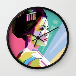 GEISHA WPAP Wall Clock