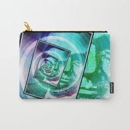 President Abraham Lincoln Pop Art Carry-All Pouch