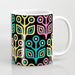 Mid Century Flower Pattern 97 Coffee Mug