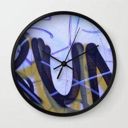 Urban Abstract 83 Wall Clock