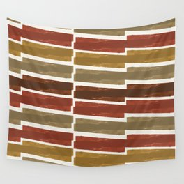 Autumn colors inspired abstract pattern Wall Tapestry