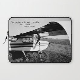 Adventure is Worthwhile in Itself Laptop Sleeve