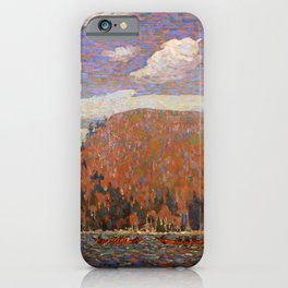 Tom Thomson - The Pointers - Canada, Canadian Oil Painting - Group of Seven iPhone Case
