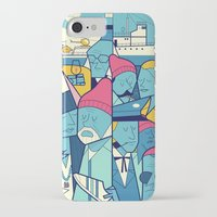 zissou iPhone & iPod Cases featuring The Life Acquatic with Steve Zissou by Ale Giorgini