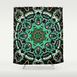 Kaleid 22 Shower Curtain