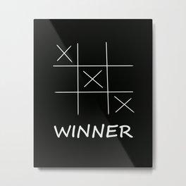 Winner Metal Print