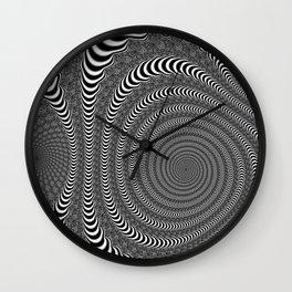 The Swirl Wall Clock