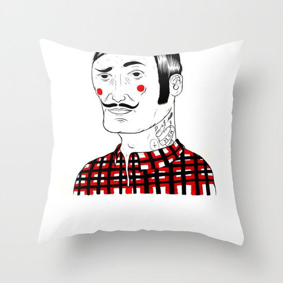 François Throw Pillow