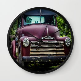 Vintage Old Truck 1950's Wall Clock