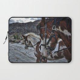 Horses, Anza Borrego, California Laptop Sleeve