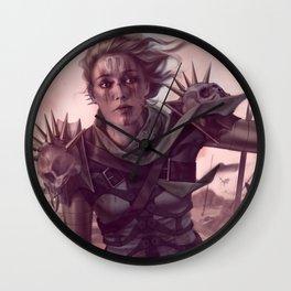 Warrior Decapitation Wall Clock