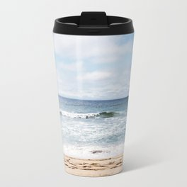 In the waves of change we find our direction Travel Mug