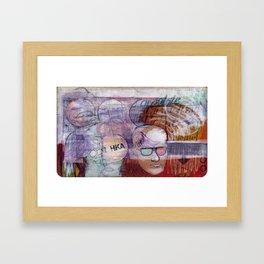 Sketchbook001 Framed Art Print
