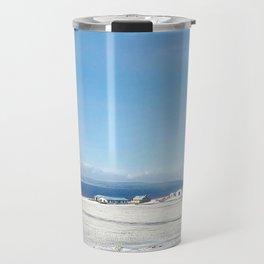 Blue roof Travel Mug