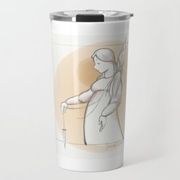 Saint Distaff's Day Travel Mug