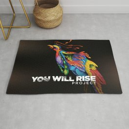 The Phoenix   You Will Rise Rug