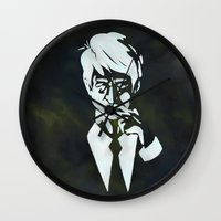 suit Wall Clocks featuring Suit by Epic Businessman
