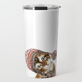 Baby Cat with the Hat Travel Mug