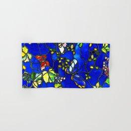 "John La Farge ""Butterflies and Foliage"" window. 1889 (1.) Hand & Bath Towel"