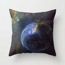 The Bubble Nebula Throw Pillow