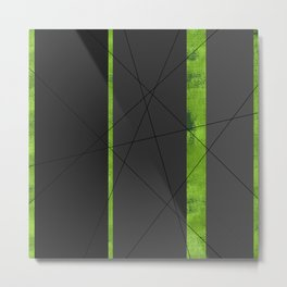 4Shades: Green Metal Print
