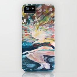 Watery Phoenix iPhone Case