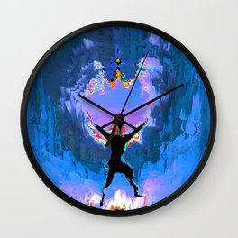 Make Way!  For The Positive Day! Wall Clock