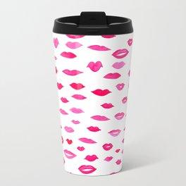 Kiss Kiss Bang Bang Metal Travel Mug