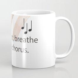 Breathe Rest Breathe Coffee Mug
