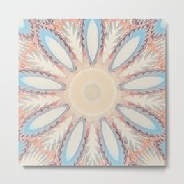 New Color Pyramidal Mandala 59 Metal Print