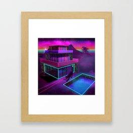 Hollywood Dreaming Framed Art Print