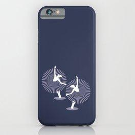 Dancing Ballerina in Purple dress iPhone Case