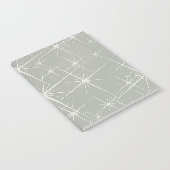 Oyster Bay Glitter Notebook