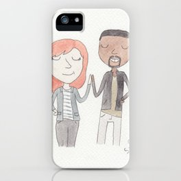 High fives iPhone Case